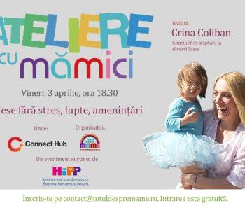 Crina Coliban - Ateliere cu mamici